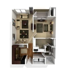 Goldenrod I One Bedroom Or Monarch Studio Version