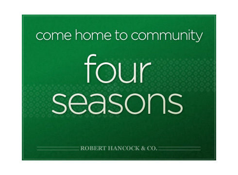 Four Seasons website cover page