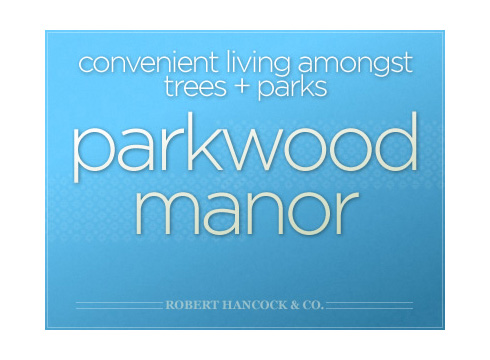 Parkwood Manor website cover image